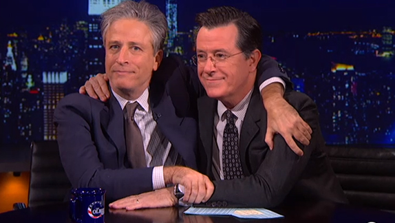 It's The Trump Show With Stephen Colbert and Jon Stewart