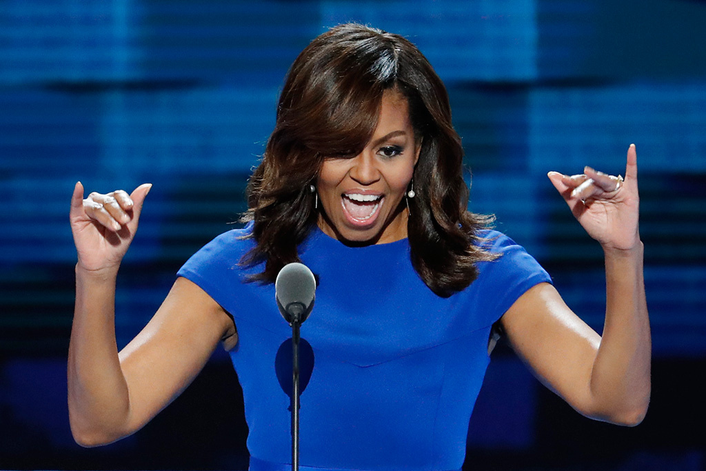 Michelle For President: First Lady's Speech Sparks Rumors Of Political Ambitions