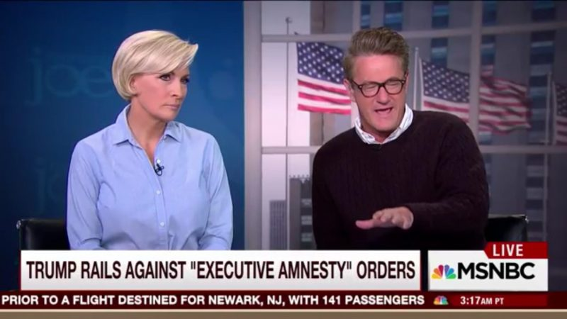 Joe Scarborough Mocks Trump Over His Softening Immigration Stance, Labels Him #AmnestyDon