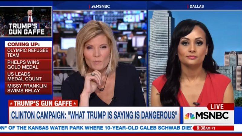 "Katrina Pierson's Logic-Defying Defense Of Trump Leaves MSNBC's Kate Snow ""Speechless"""