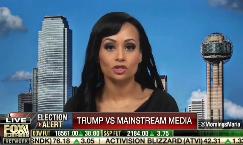 "According To Katrina Pierson, Liberal Reporters Are ""Literally"" Beating Trump Supporters"
