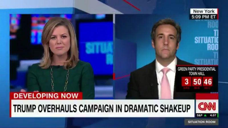 CNN Had To Break The News To Trump's Lawyer That Trump's Losing In All The Polls