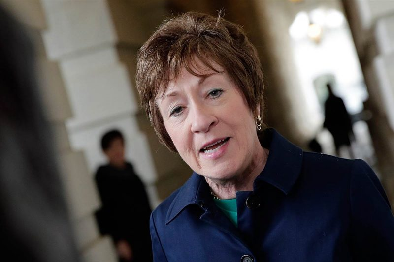 Susan Collins Says She's Working with Other Republicans to Allow Witnesses in Impeachment Trial