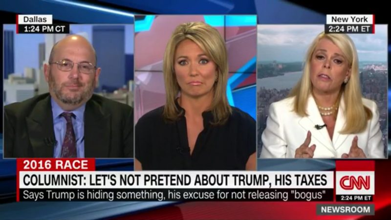 """Trump Surrogate Says GOP Nominee Shouldn't Release Tax Returns To Avoid """"Tax Shaming"""""""