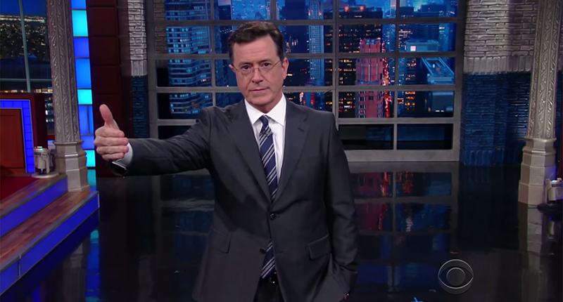 Stephen Colbert On Charlotte: This Keeps Happening No Matter How Many Times We Do Nothing