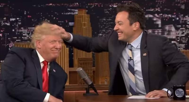 Jimmy Fallon's Donald Trump Interview Last Night Was Even Worse Than Matt Lauer's
