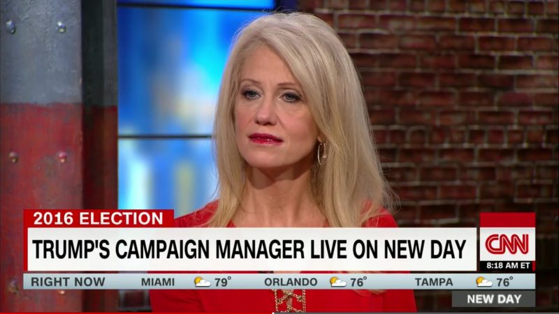 Kellyanne Conway Claims Trump Foundation Is Trump's Money. That Is Patently False.