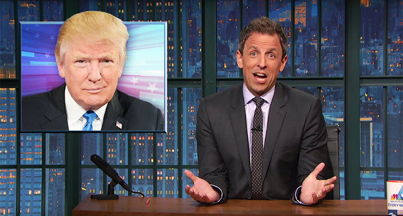 Seth Meyers Mocks Donald Trump's Glee About NYC Bomb: Did He Want Credit For It?