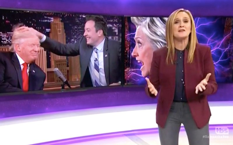 Samantha Bee Tears Into Jimmy Fallon's Trump Interview: Ratings Matter More Than Brown People