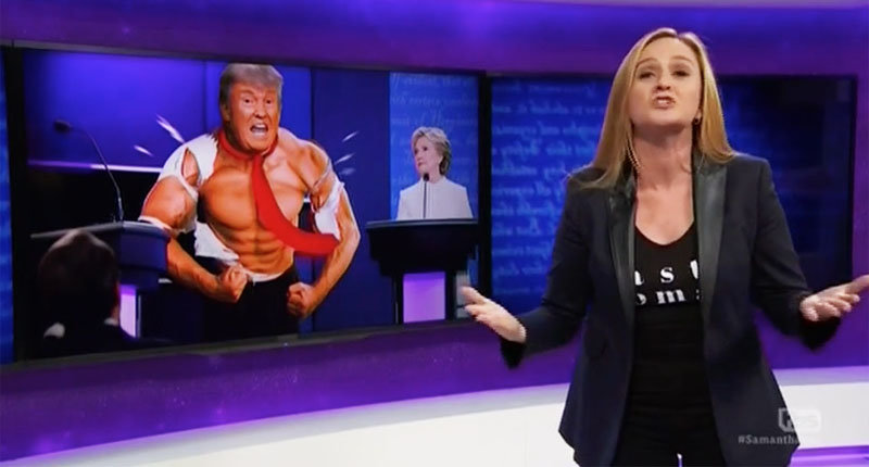 Samantha Bee: Trump Might Outlaw Birth Because 'It Makes Pussies Too Gross'