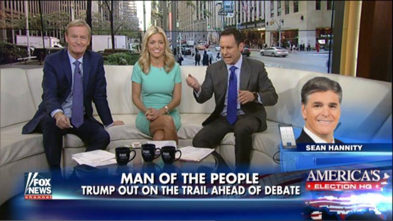 """Man Of The People"": Fox & Friends Tag-Teams With Hannity To Crown Trump Debate King"