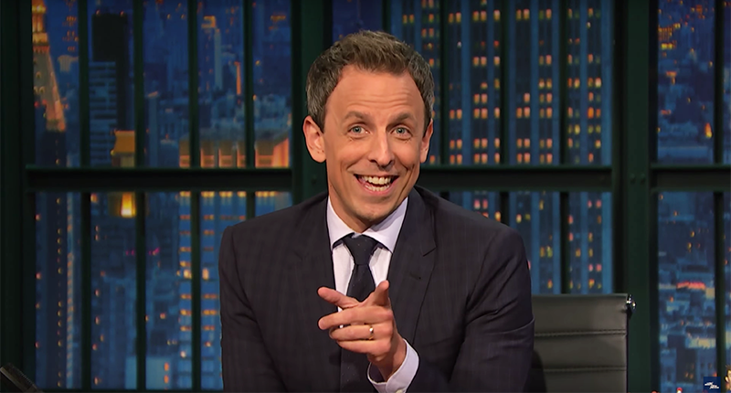 Seth Meyers On Trump's Tax Returns: 'I Think You're Poor. I Think You Pretend To Be Rich'