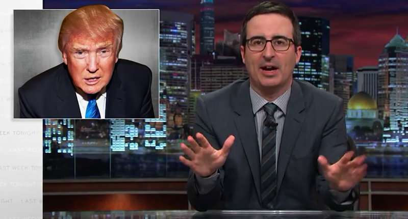 John Oliver: Donald Trump's Been Losing Debates To Women For 20 Years