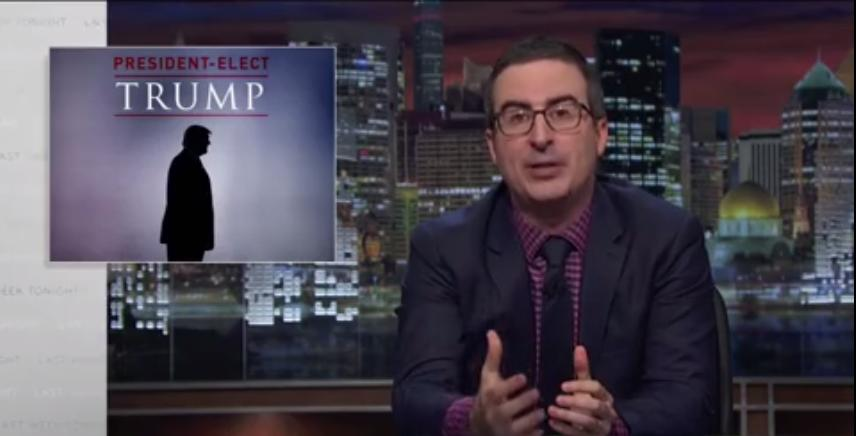 John Oliver On Donald Trump's Victory: What The F*ck Do We Do Now?