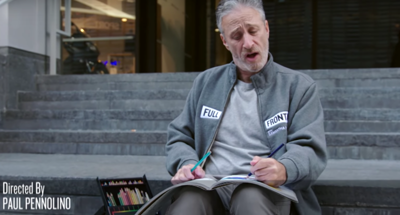 Jon Stewart And Sam Bee Get Together And Try To Get Over The Election