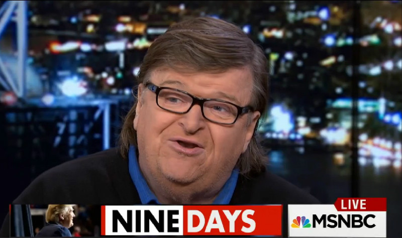 """Michael Moore: Donald Trump Is """"The Godfather Of This Decade's Fake News"""""""