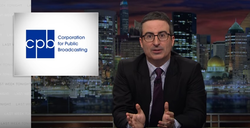 Watch: John Oliver Tears Trump's First Budget To Shreds