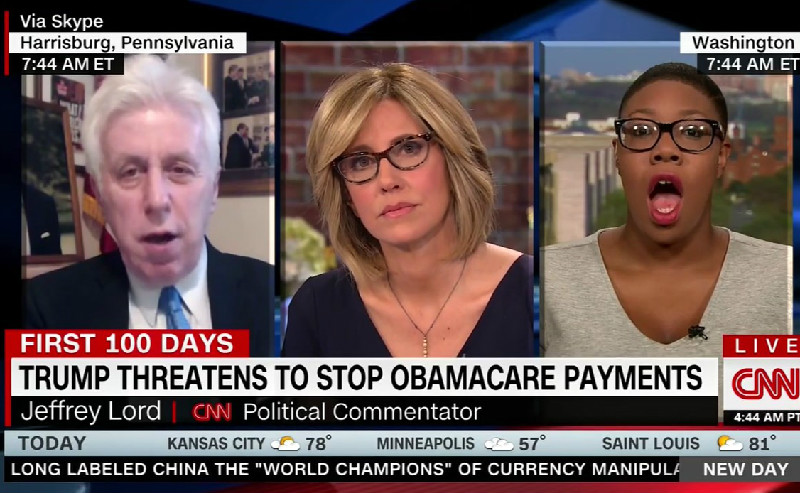 CNN's Jeffrey Lord: 'Think Of President Trump As The Martin Luther King Of Health Care'