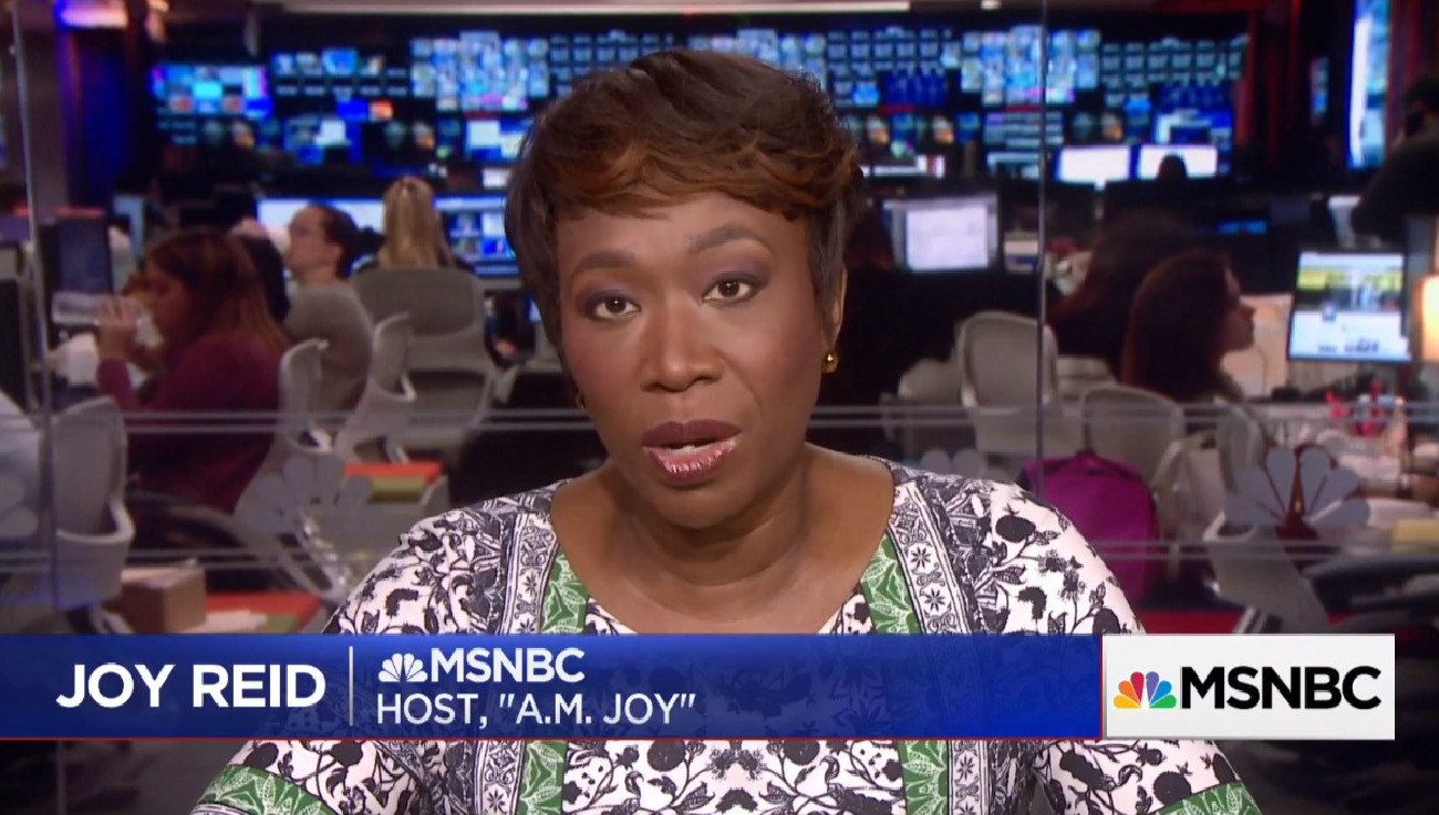 Joy Reid 'Sincerely' Apologizes For Old Blog Posts, Doesn't Address Past Hacking Claims