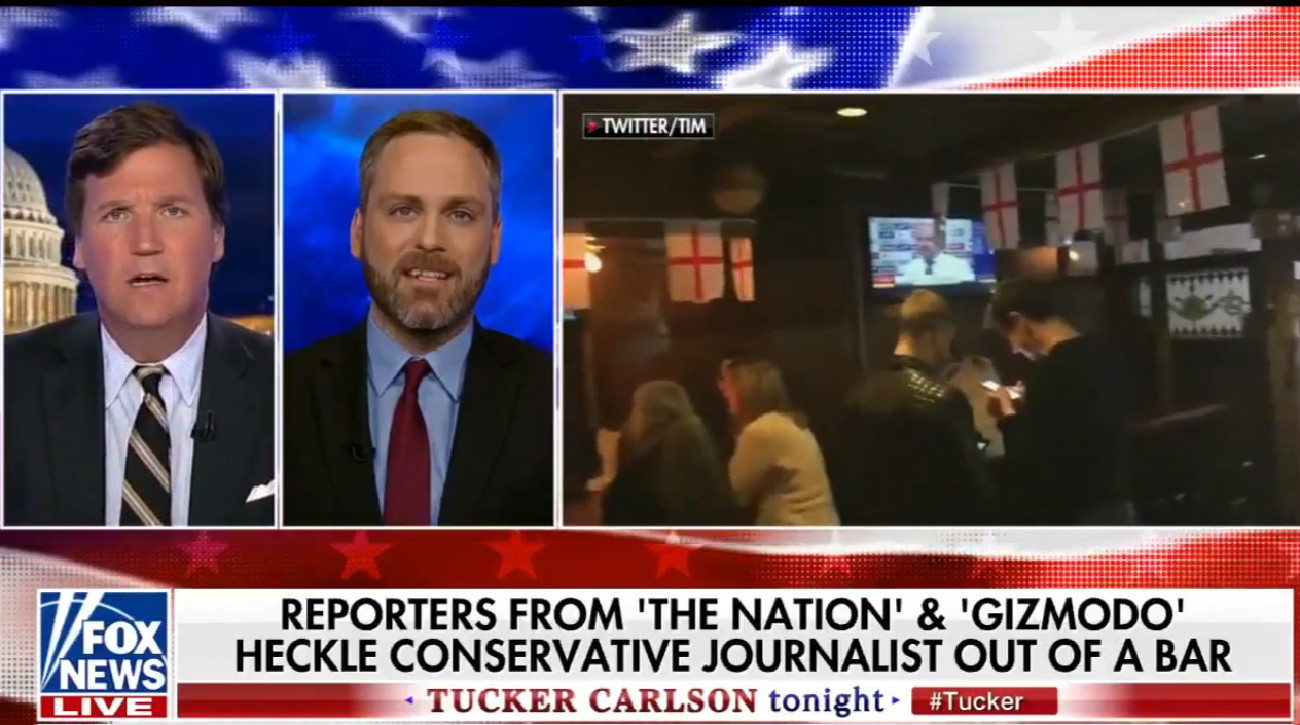 Tucker Carlson Comes To Milo Yiannopoulos' Defense, Describes Him As 'Conservative Journalist'