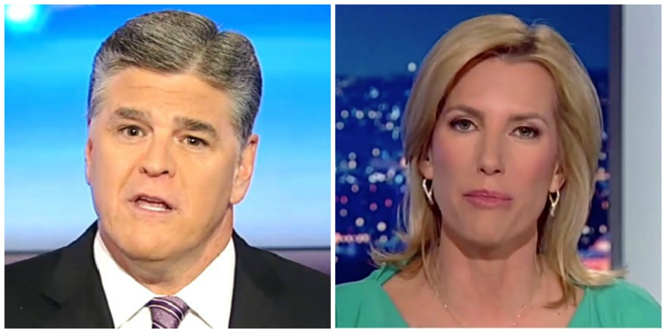 Hannity And Ingraham Two Most-Watched Cable News Shows Tuesday, Maddow Third In Demo