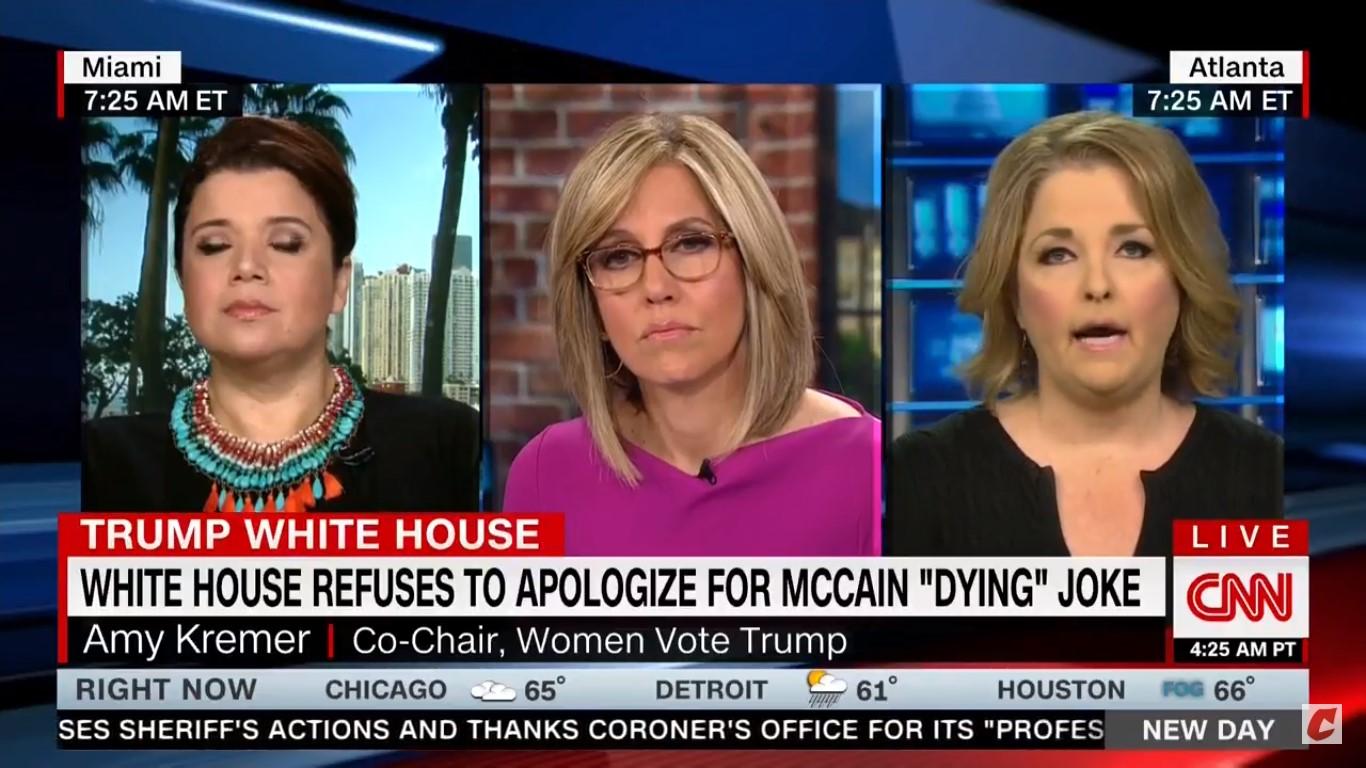 WATCH: Trump Supporter Complains That John McCain Didn't Wish Melania Trump Well