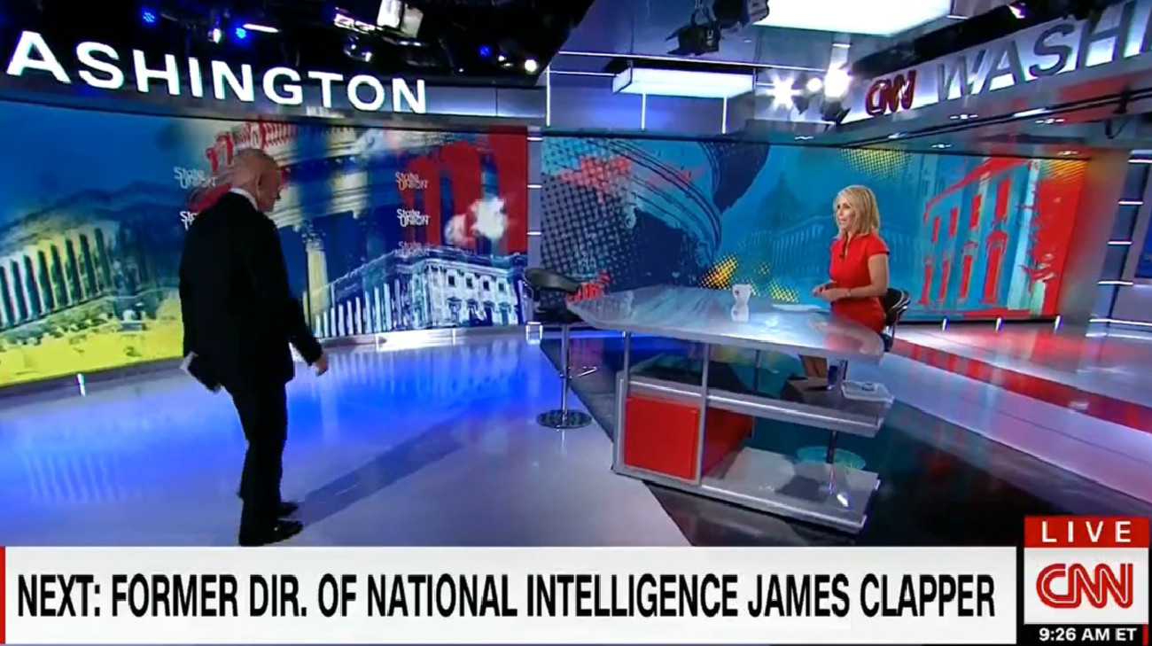 Giuliani Calls James Clapper A 'Clown' At End Of Crazed CNN Interview…Then Clapper Walks On To Respond
