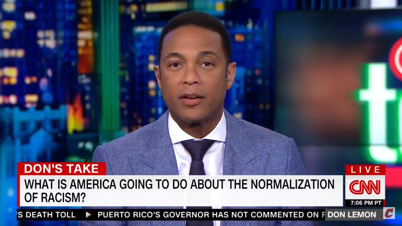 Don Lemon Goes Off On Roseanne's Tweets, Says Trump Is 'Emboldening Racists': 'I'm Fed Up!'
