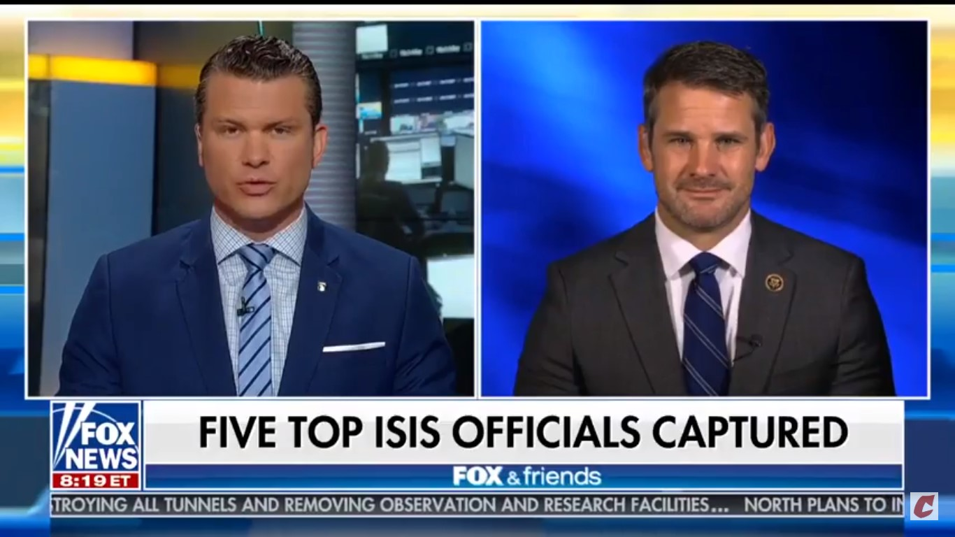 Fox's Pete Hegseth Dings Media (Again) For Not Covering ISIS Story, Doesn't Mention His NYT Gaffe