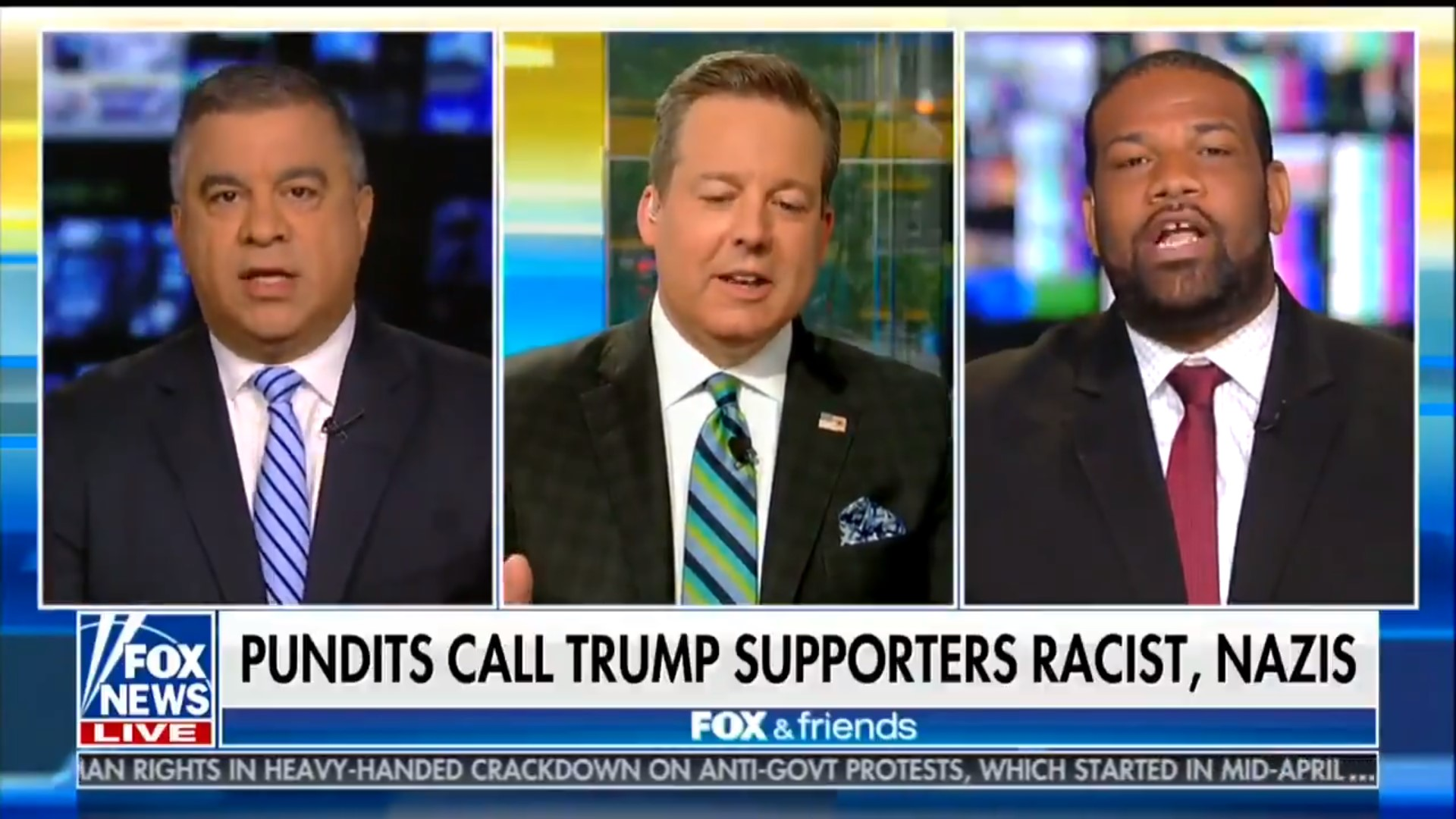 Fox's David Bossie Apologizes For Telling Black Man 'You're Out Of Your Cotton-Picking Mind'