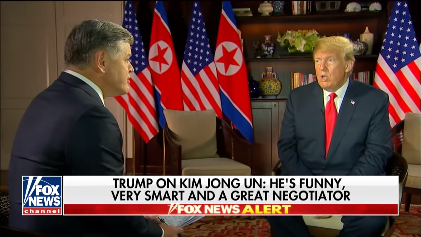 Fox News' Trump-Kim Summit Coverage Boosts Network To Easy Cable Ratings Win Last Week
