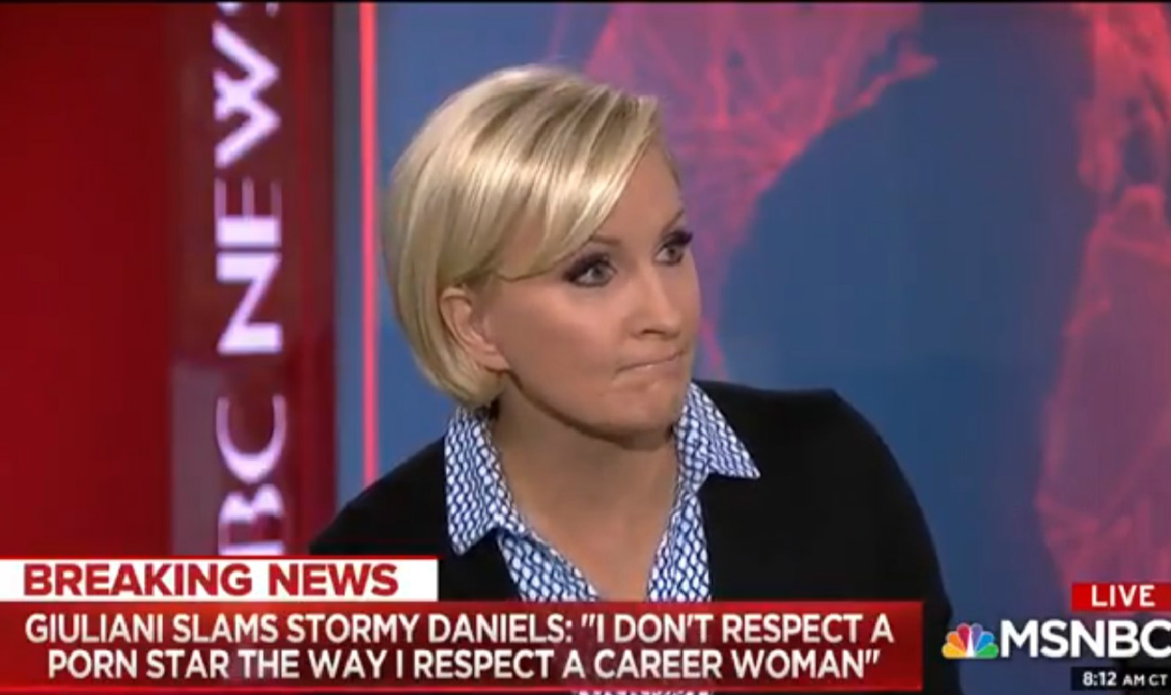 Mika Brzezinski: 'Trump's Biggest Complaint' Is He's 'Not Allowed To Watch Porn In The White House'
