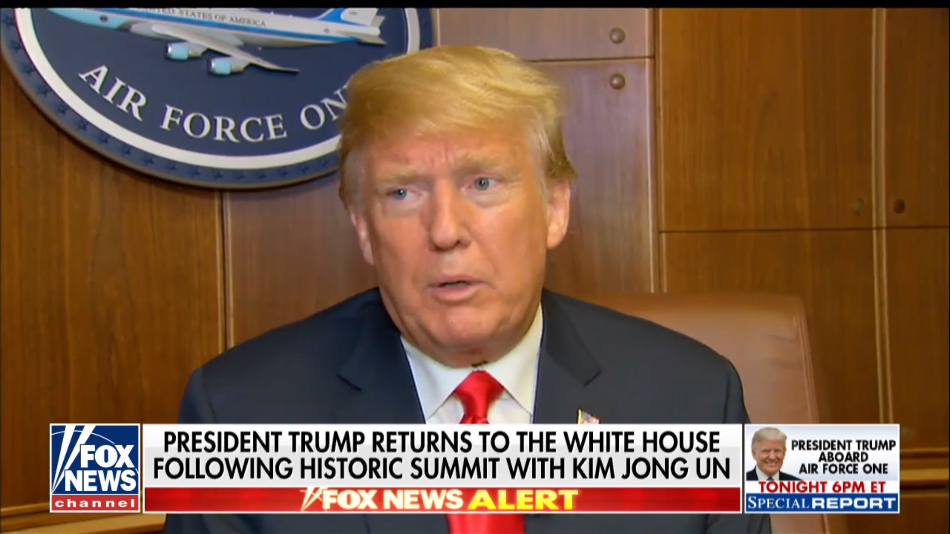 Trump: Withdrawing Troops From South Korea Was 'Never Discussed' With Kim