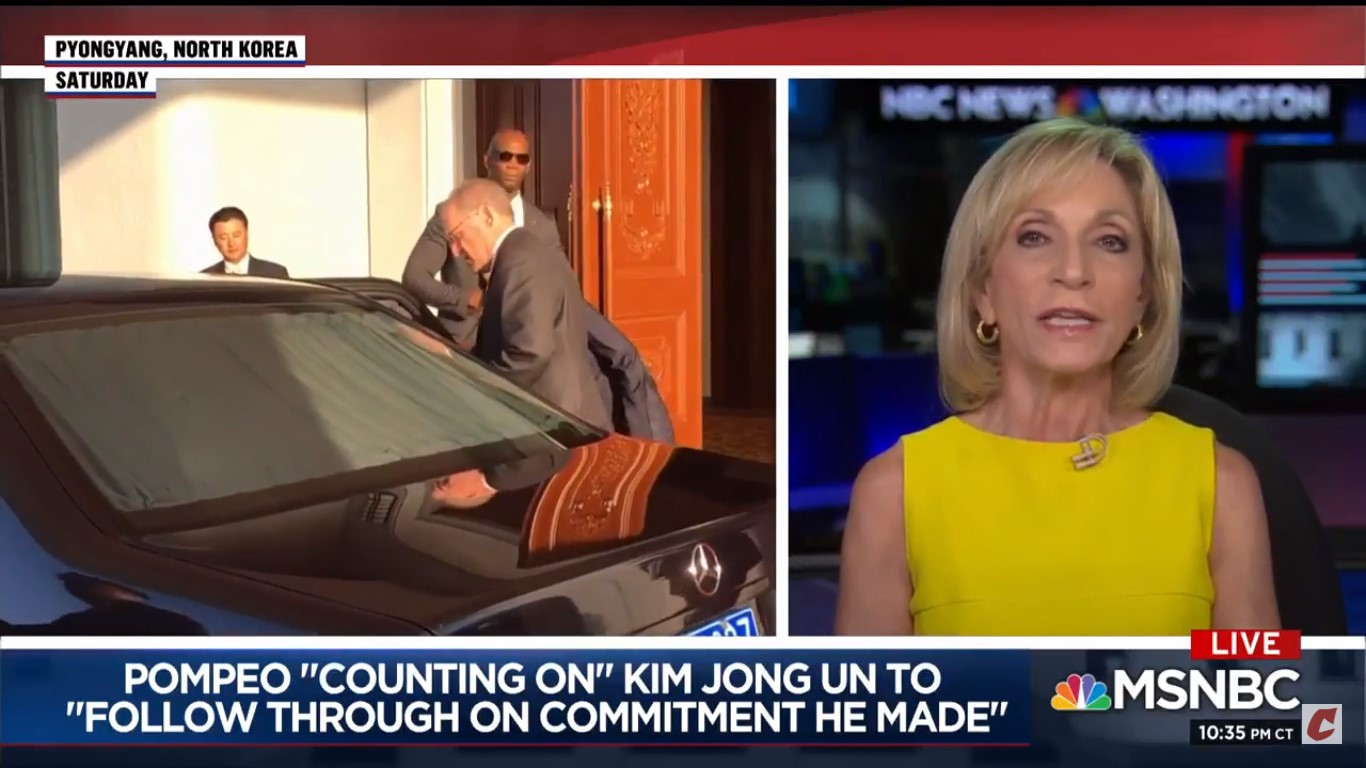 MSNBC's Andrea Mitchell On North Korea Denuclearization Talks: 'We Sure Did Get Played'