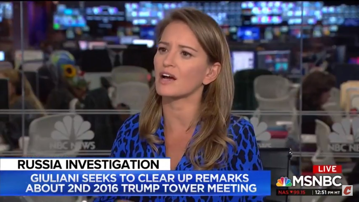 MSNBC's Katy Tur On Rudy Giuliani: He 'Might Have A Hard Time Keeping Things Straight'