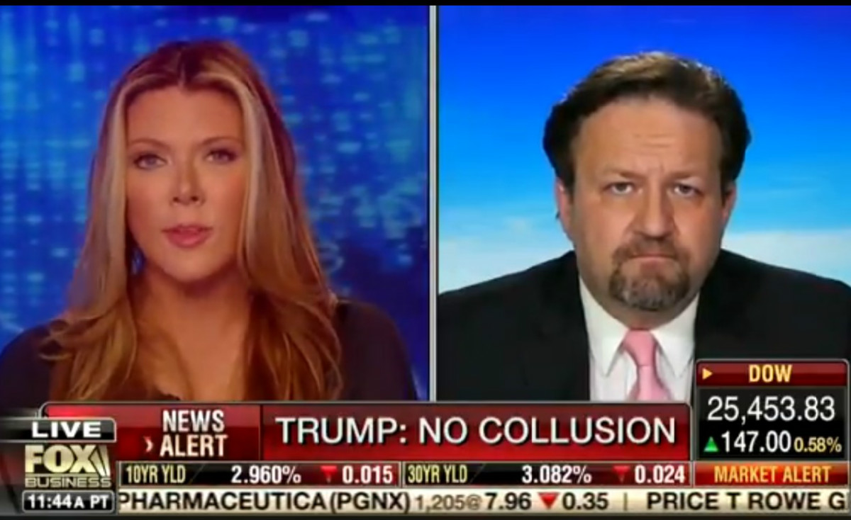 Fox's Trish Regan Agrees With Seb Gorka That CNN And MSNBC Are Doing 'Putin's Bidding'