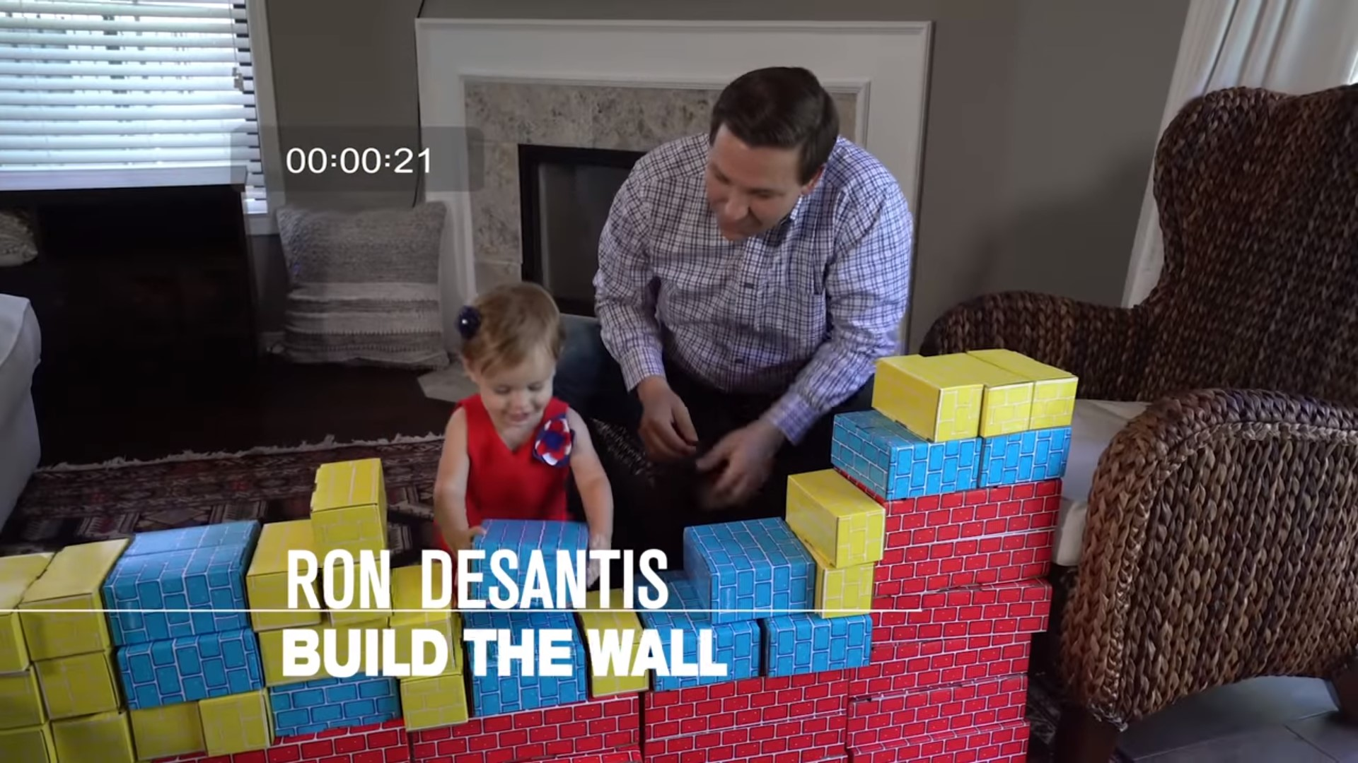 GOP Rep Teaches His Young Children To 'Build The Wall' In Trumpiest Campaign Ad Yet
