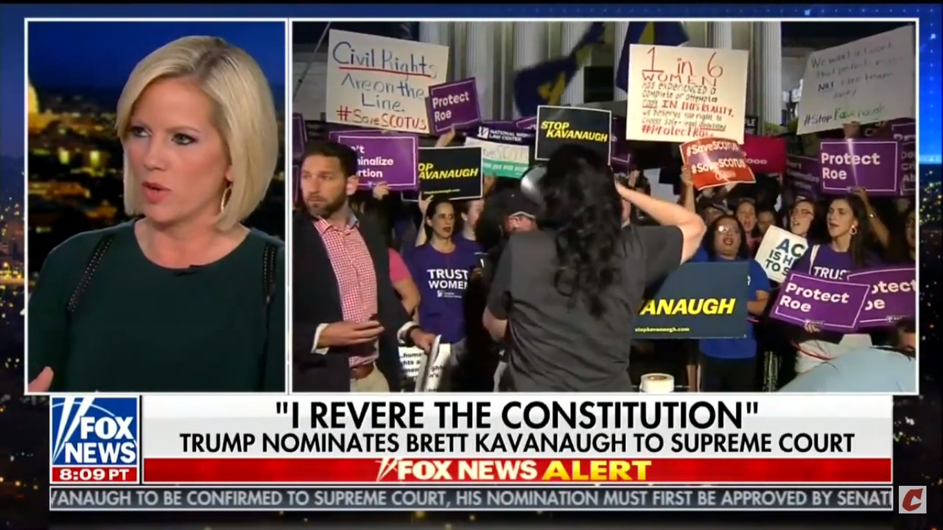 Fox's Shannon Bream Moves Live Broadcast From SCOTUS Due To Protests: 'Very Volatile'