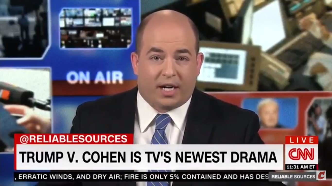 CNN's Stelter Asks Press To Focus More On Facts And Less On 'Desperate Spin' Coming From Giuliani