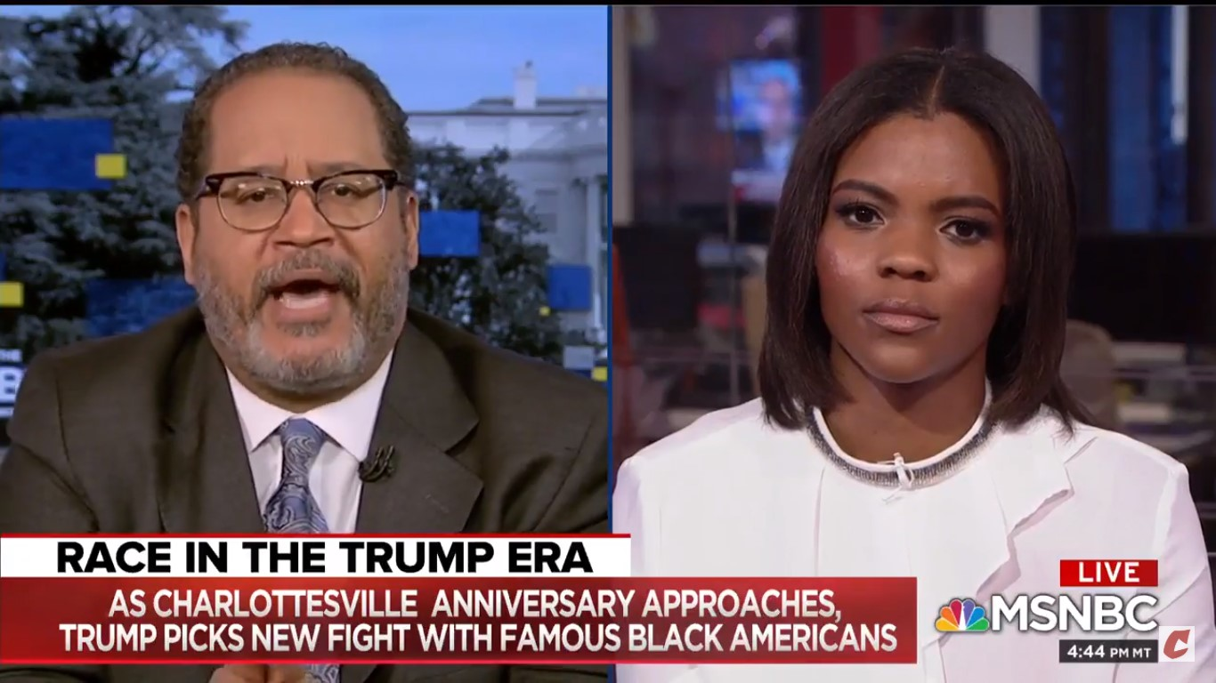 Michael Eric Dyson Shreds Candace Owens: Like Trump, You 'Reduce Everything To Narcissistic Self-Preoccupation!'