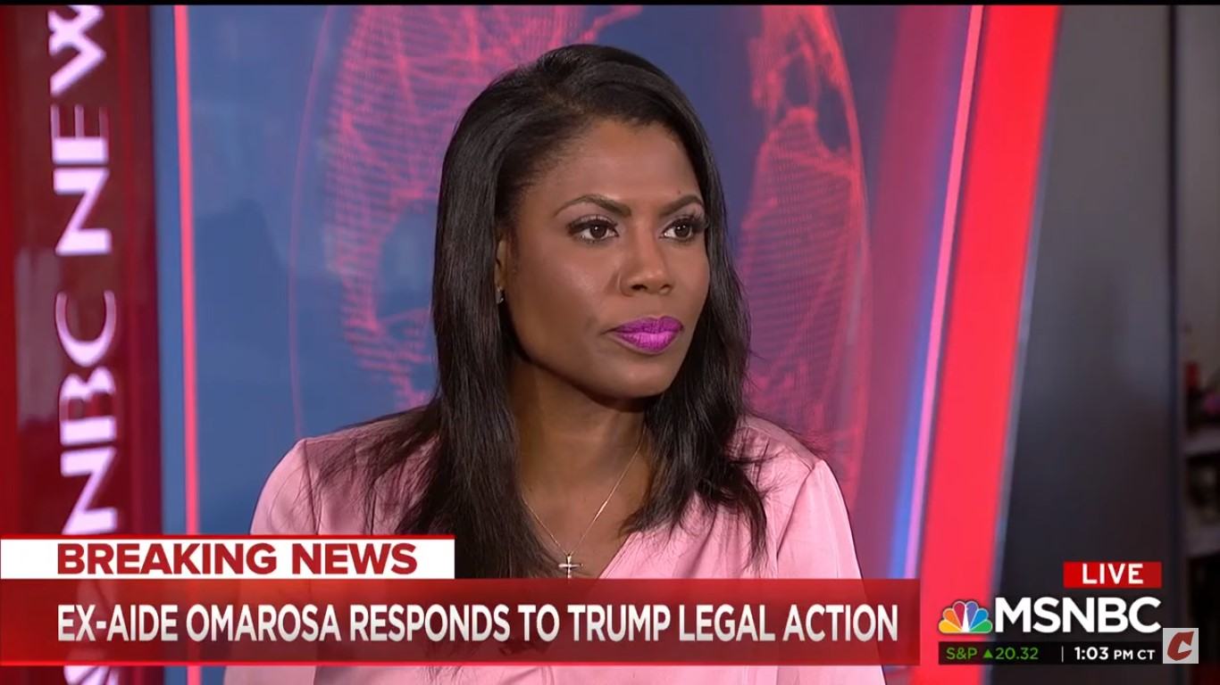 Omarosa: Trump 'Absolutely' Knew About Stolen Clinton Emails Before WikiLeaks' Release