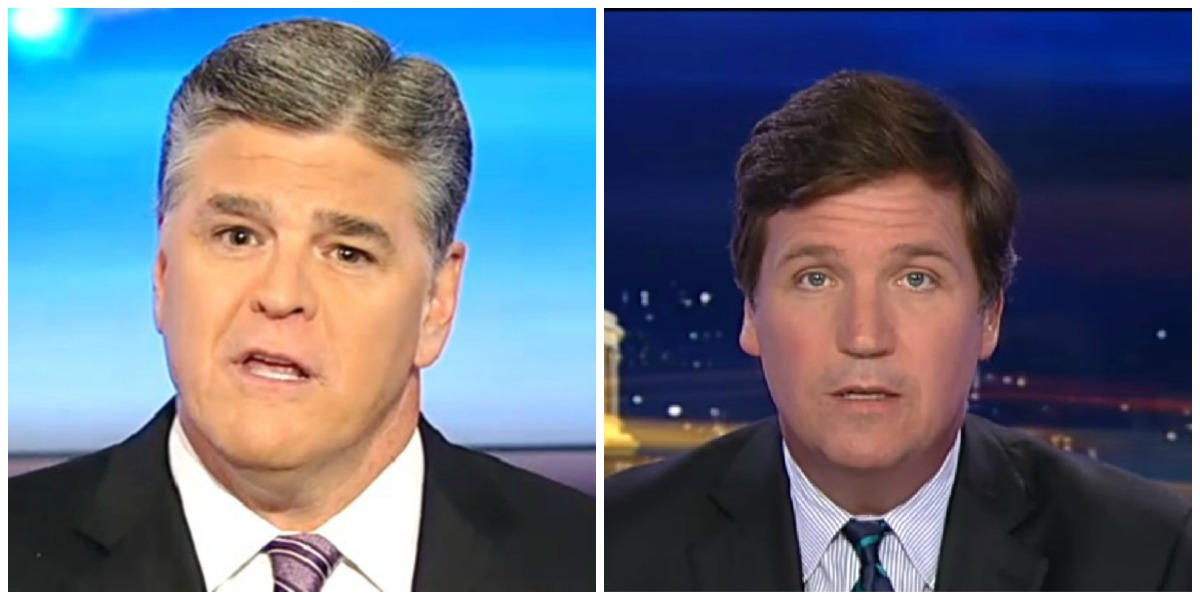 Hannity and Tucker Top Cable News Ratings Thursday Night, Maddow Falls to Third