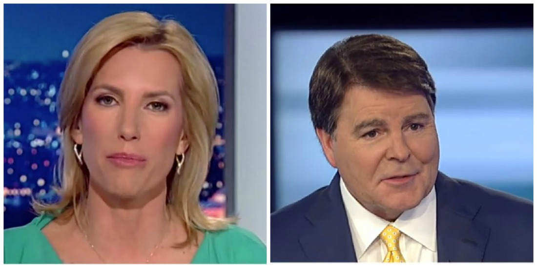 Fox News' Laura Ingraham And Gregg Jarrett Call For Rosenstein's Firing After NYT Report