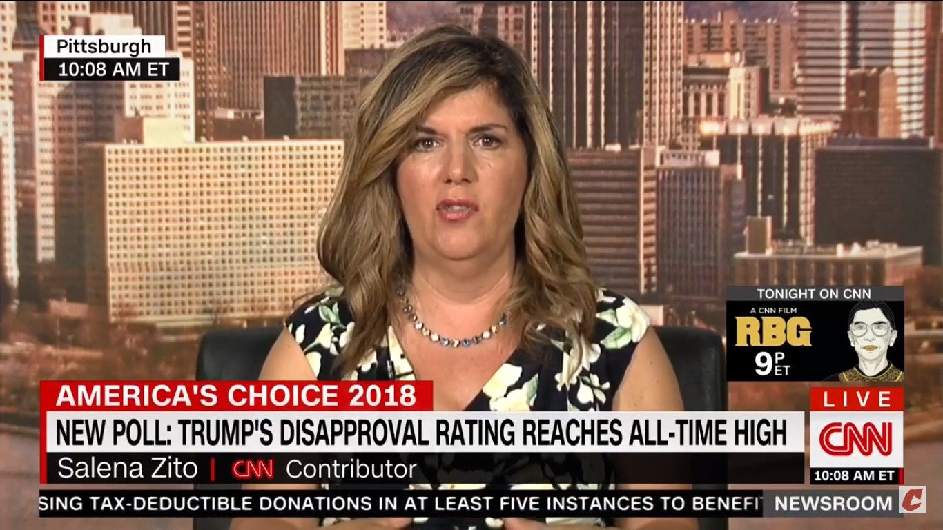 Salena Zito Not Asked About Allegations Surrounding Her Reporting During CNN Appearance