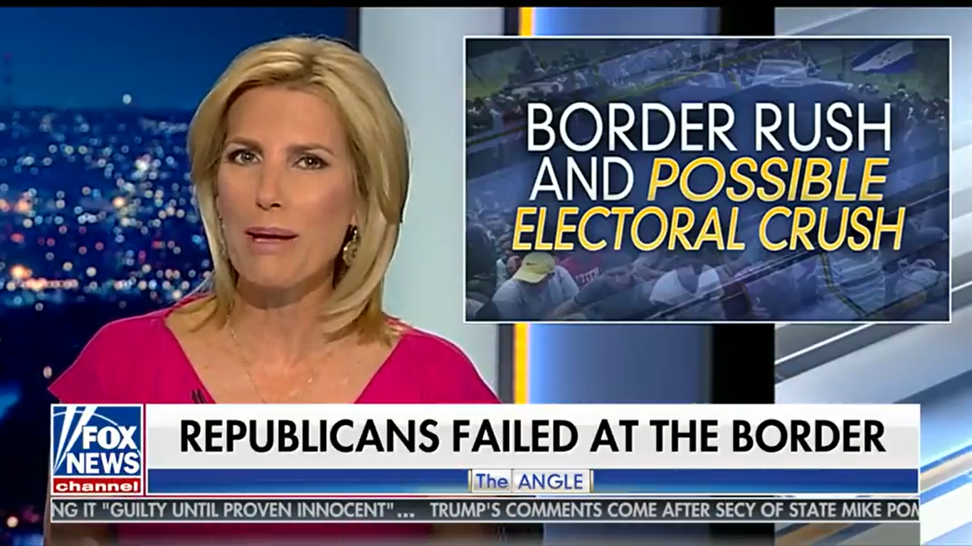 Laura Ingraham: Democrats 'Want To Replace You' With Immigrants
