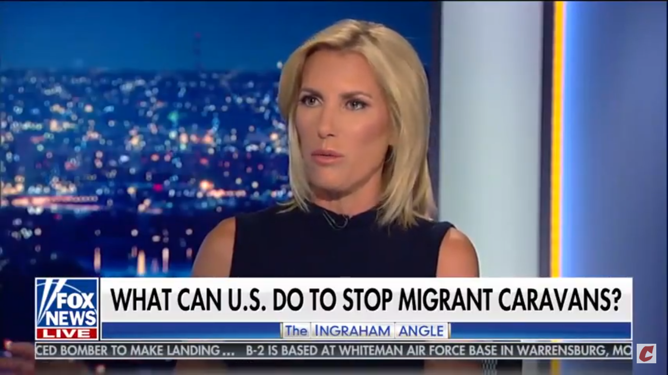 Laura Ingraham: The Migrant Caravan Might Bring Diseases 'We Haven't Had For Decades'