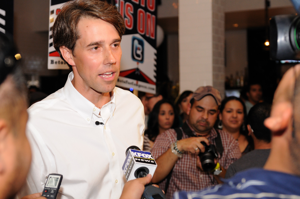 Major Texas Newspapers Endorse Beto O'Rourke But He's Trailing Ted Cruz