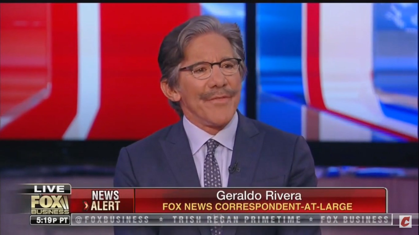 Geraldo Rivera Believes Bomb Scare Is An 'Elaborate Hoax' Done To 'Embarrass President Trump'