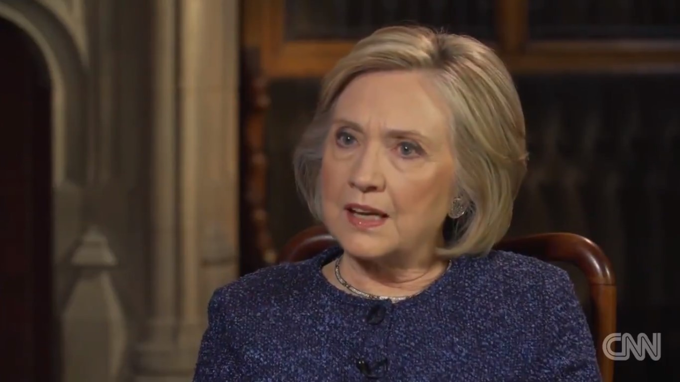Hillary Clinton: 'You Cannot Be Civil With A Political Party That Wants To Destroy What You Stand For'