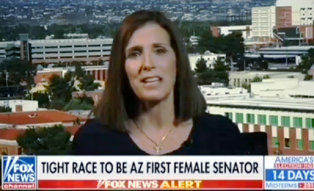 GOP Senate Candidate Accuses Her Dem Opponent Of Being 'Propped Up' By George Soros
